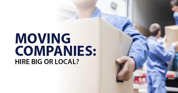 moving company options