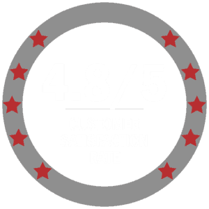 4.8/5 customer satisfaction rate