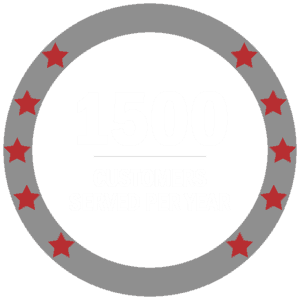 1500 customers served per year