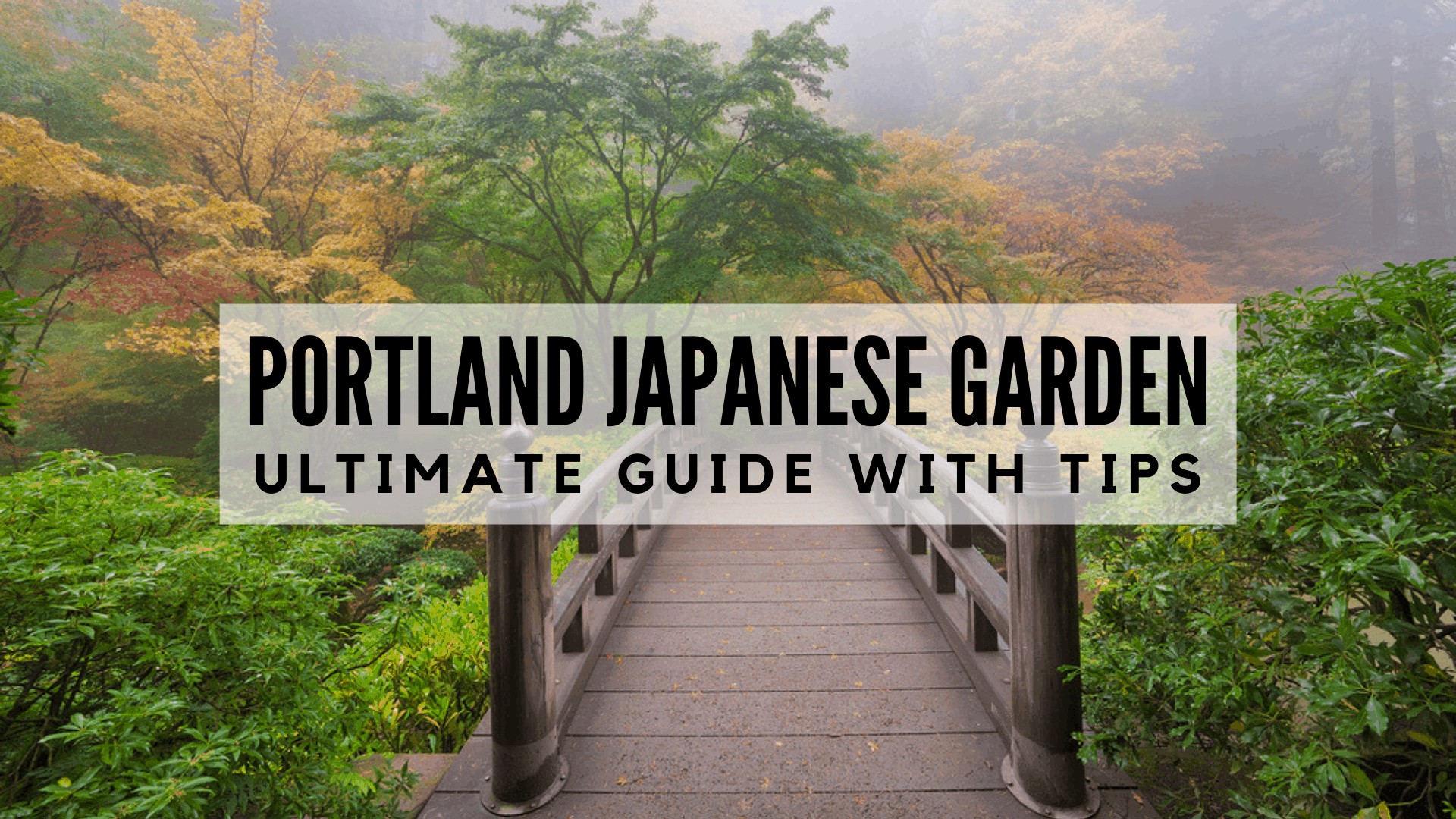 Portland Japanese Garden | ULTIMATE Guide with Tips