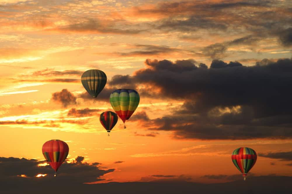 Tigard Festival of Balloons at Dusl