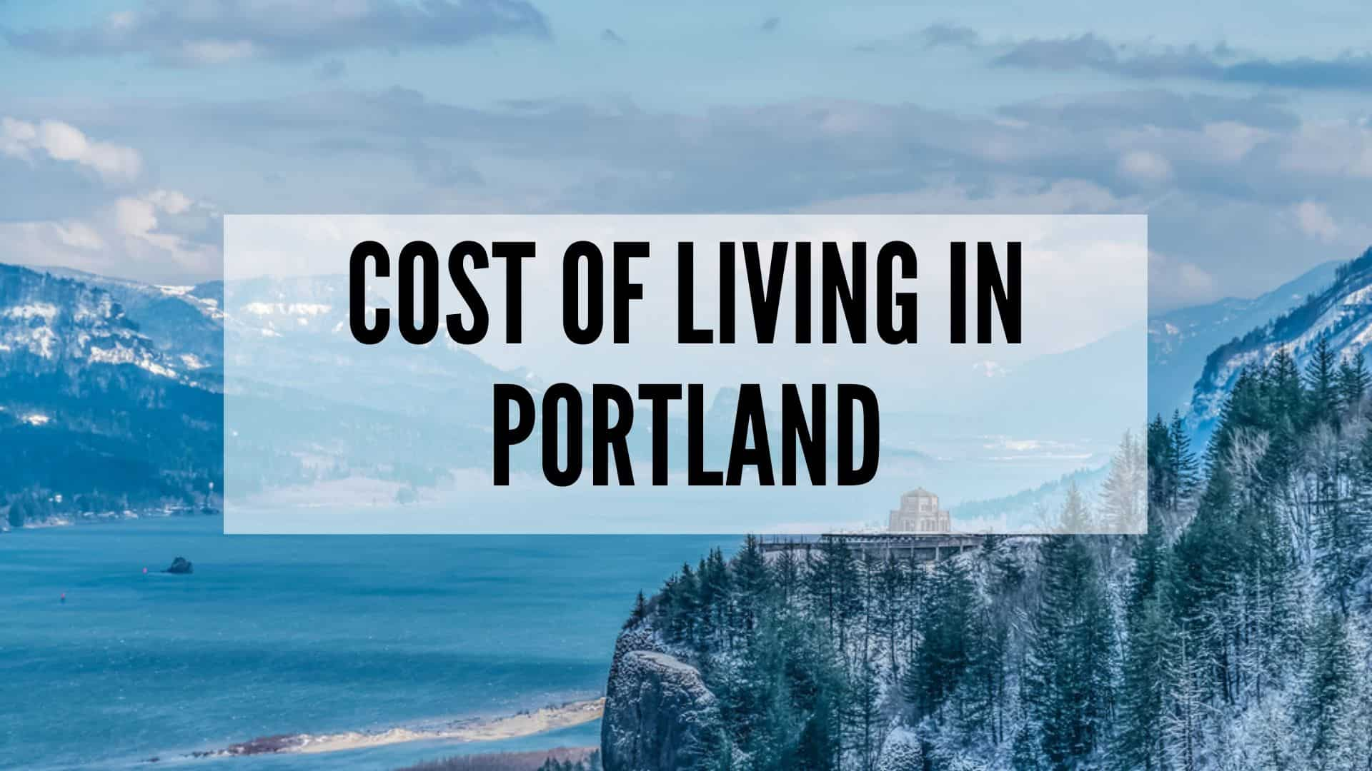 cost-of-living-in-portland