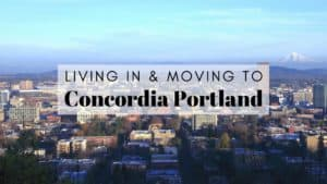 Living in & Moving to Concordia Portland