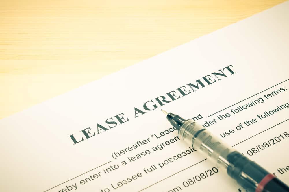 oregon lease agreement