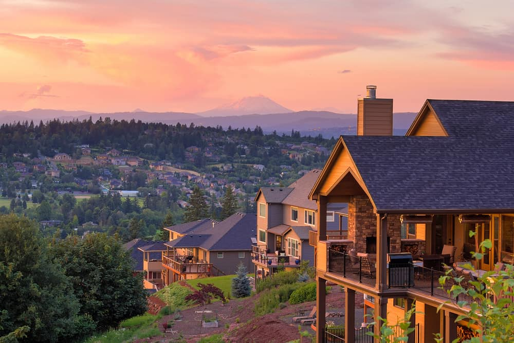 Homes in a local Happy Valley, OR neighborhood